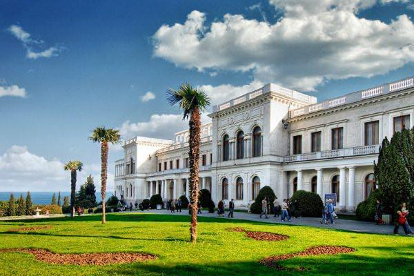 Ливадийский дворец и концерт органной музыки